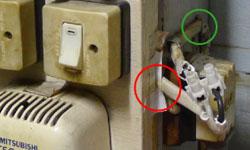 มีปัญหาจากผู้ใช้งานมาฝาก เปิดเครื่องทำน้ำอุ่นแล้วไฟดับ