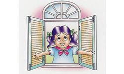 4. หน้าต่างแบบบานเปิดข้าง